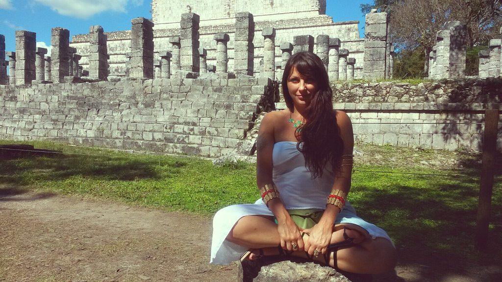 Deborah Skye Chichen Itza Warrrior Temple