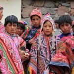 Pisac children market