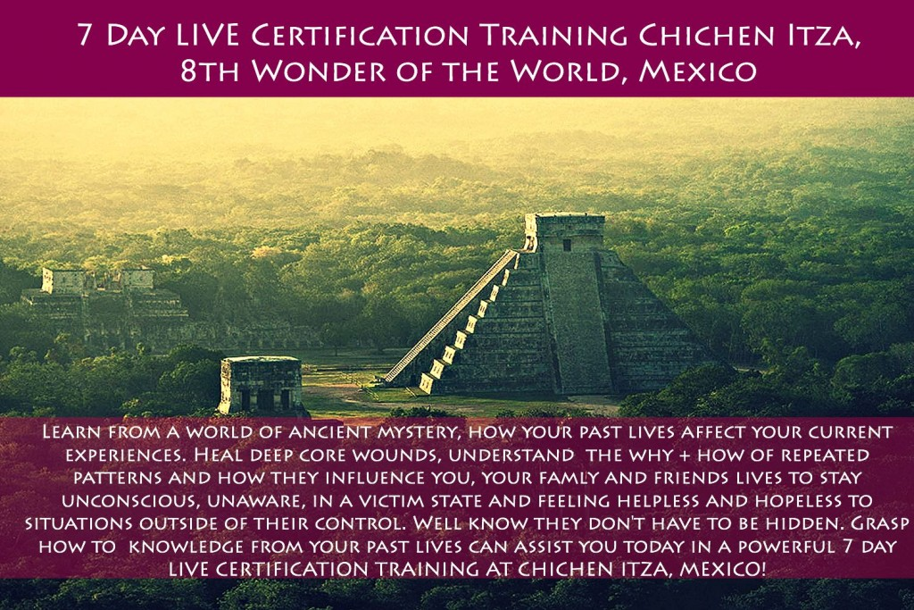 Chichen Itza Mexico Training