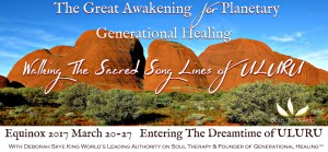 Uluru Australia Women's Retreat Planetary Awakening March 20 -27 2017